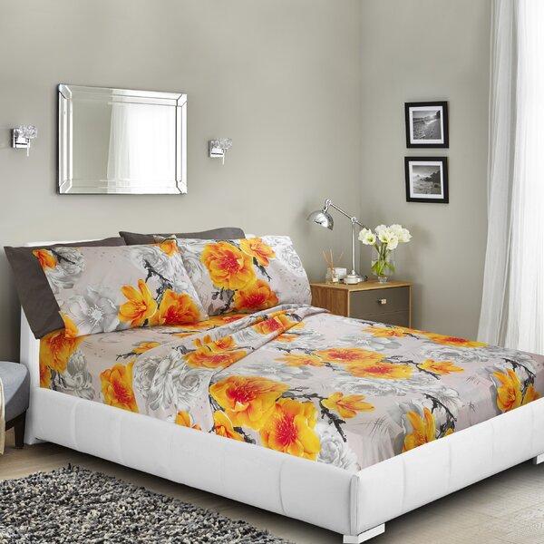 Navneet Printed Bed Sheet Set by Latitude Run