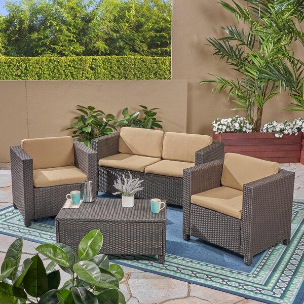 Rosetta Outdoor Love Seat Cushion