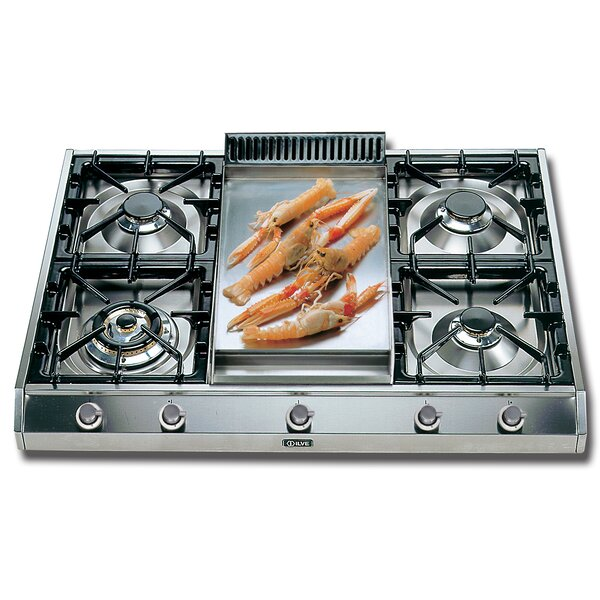 36 Gas Cooktop with 5 Burners by ILVE