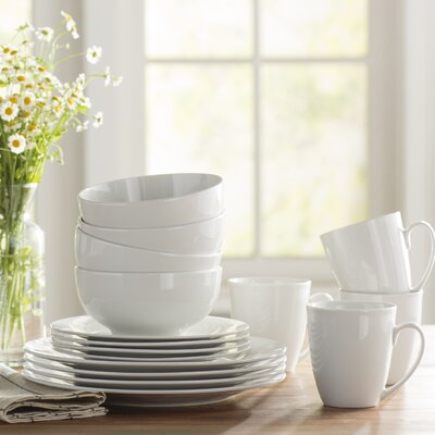 Oneida 16 Piece Dinnerware Set, Service for 4 & Reviews | Wayfair