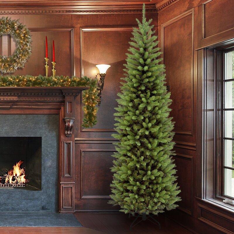 14 Ft Christmas Tree Part - 32: Fir 7.5u0027 Pencil Tree