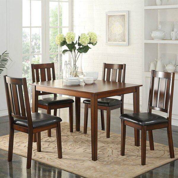 Best #1 Andy 5 Piece Dining Set By A&J Homes Studio Sale