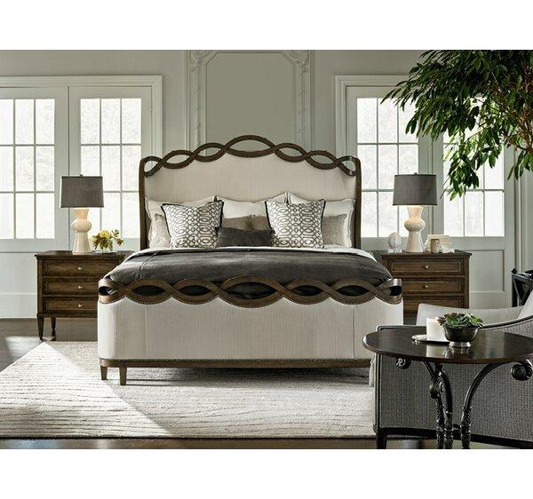 Veranda Etheral Upholstered Panel Configurable Bedroom Set by Fine Furniture Design