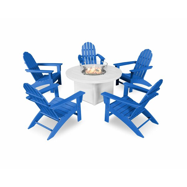 Vineyard 6 Piece Complete Patio Set by POLYWOOD®