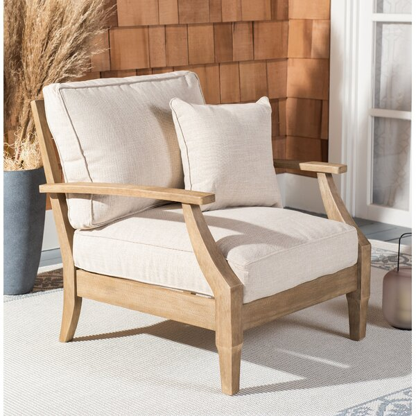 Ducan Patio Chair with Sunbrella Cushions by Highland Dunes Highland Dunes
