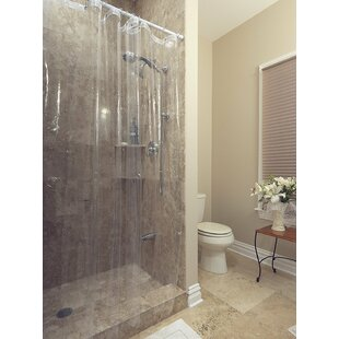 Venice Clear Heavy Duty 10 Gauge Vinyl Shower Curtain