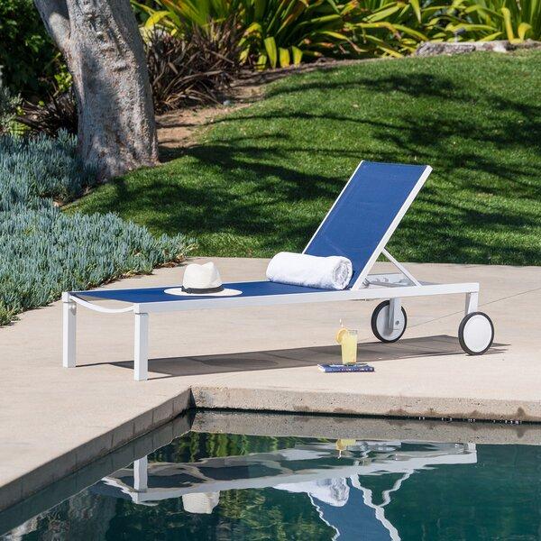Ryland Reclining Chaise Lounge by Ebern Designs Ebern Designs