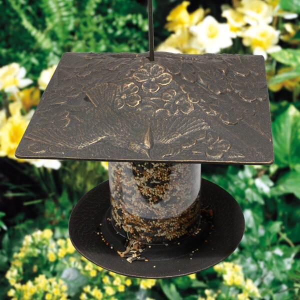 Cardinal Tube Bird Feeder by Whitehall Products