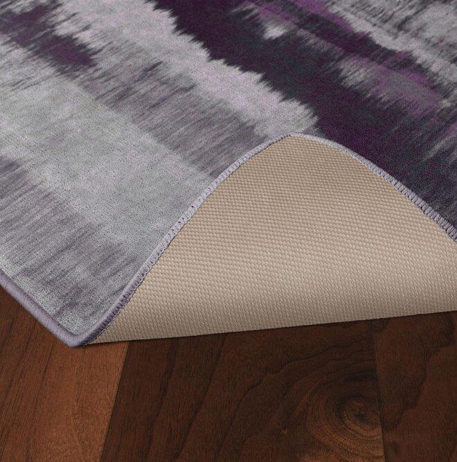 Demetrius Purple/Gray Area Rug