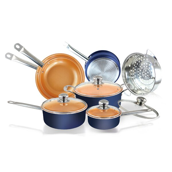 11 Piece Non-stick Cookware Set by Volar Ideas