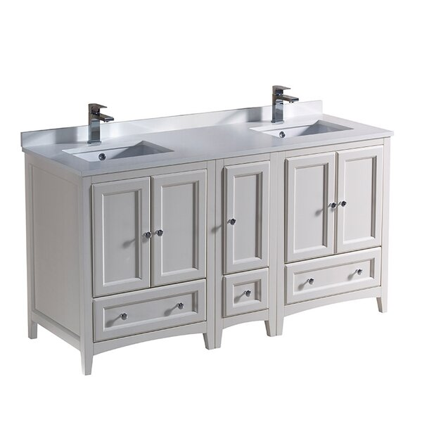 Oxford 60 Double Bathroom Vanity Set by Fresca