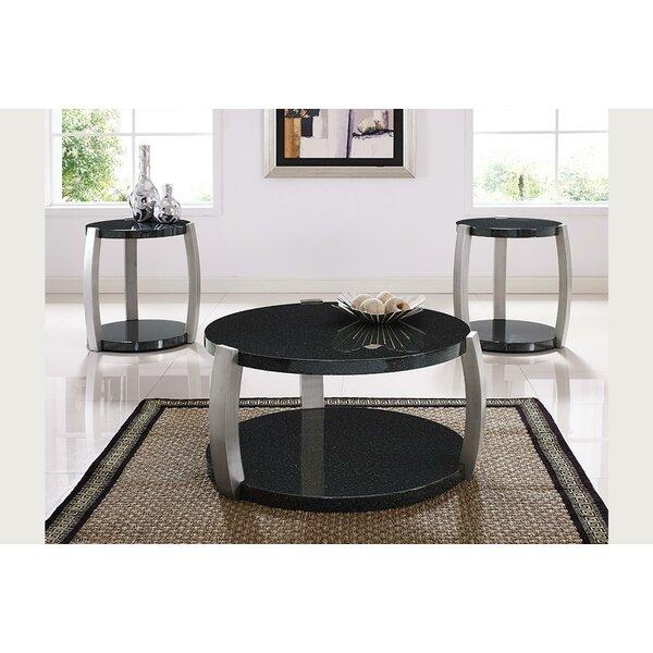 Numan 3 Piece Coffee Table Set by Brayden Studio Brayden Studio