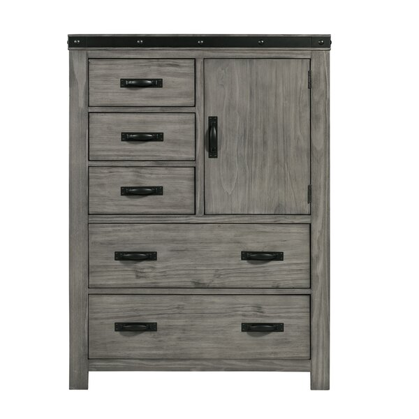 Pfeiffer 5 Drawer Gentlemans Chest by Loon Peak