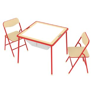 Allinfun Kidsu0027 3 Piece Square Table And Chair Set