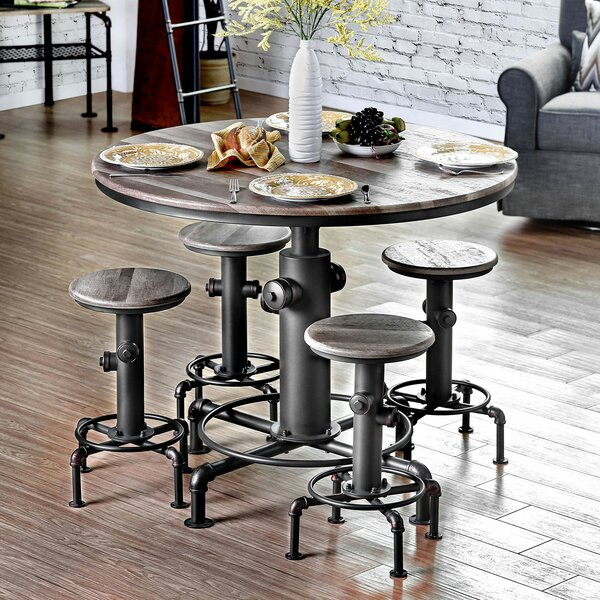 Pollard 5 Piece Dining Set by 17 Stories