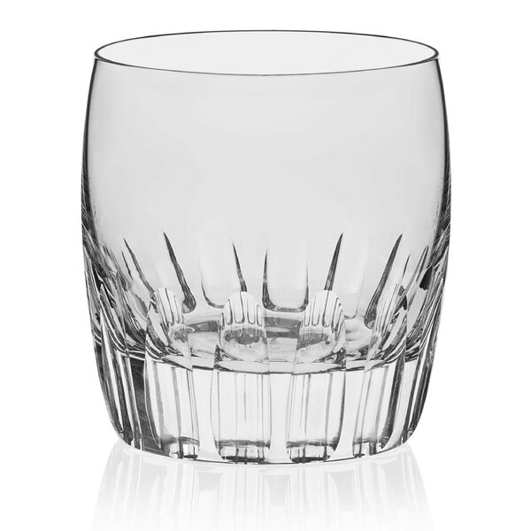 Signature Kentfield Chisel Rocks 9 oz. Glass Cocktail Glasses (Set of 4) by Libbey