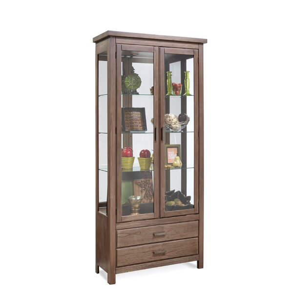 Jersey Curio Cabinet by Darby Home Co