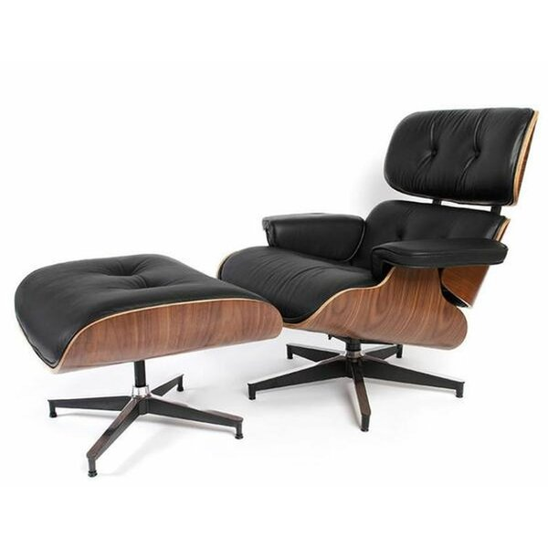 Chatham Square Swivel Lounge Chair and Ottoman by Corrigan Studio Corrigan Studio