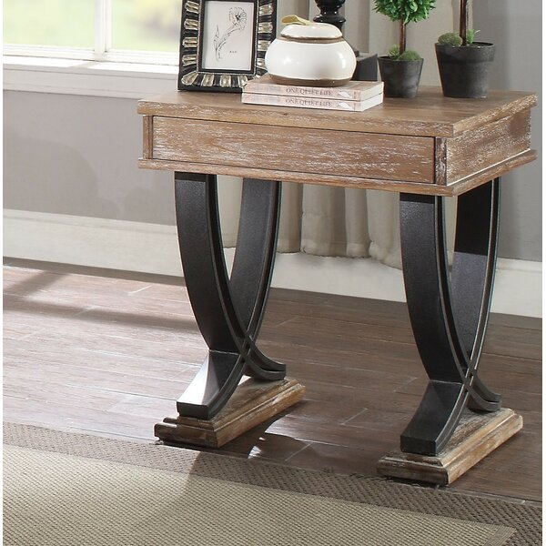 Brower End Table by Gracie Oaks Gracie Oaks