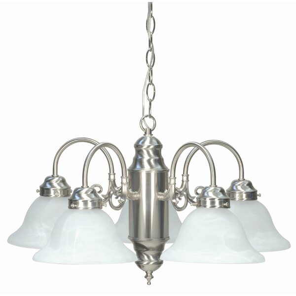 Cusick 5-Light Shaded Classic / Traditional Chandelier by Charlton Home Charlton Home