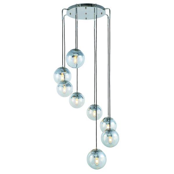Simeone 8-Light Cluster Pendant by Brayden Studio