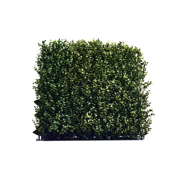 1.5 ft. H x 1.5 ft. W Artificial Leaf Myrtle Fence Panel (Set of 4) by GreenSmart Dekor
