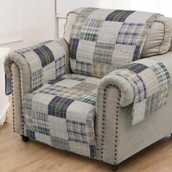 Oxford Sofa Slipcover By August Grove