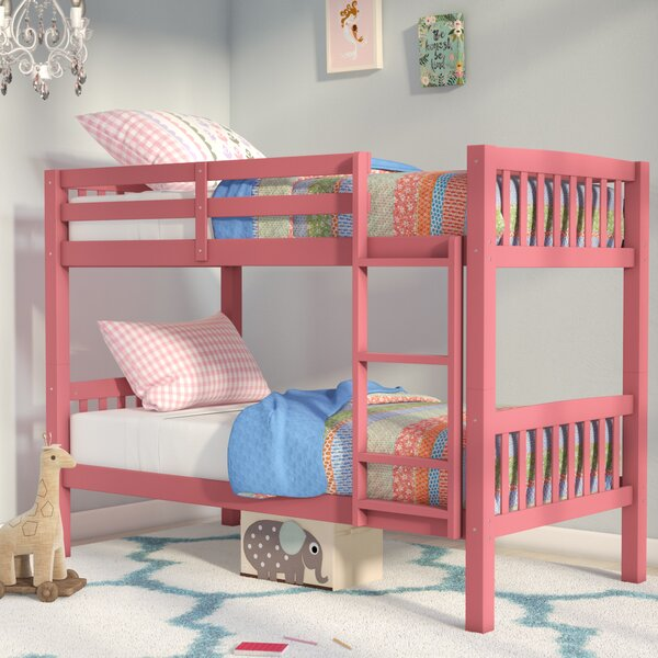 Nicholson Twin over Twin Bunk Bed by Harriet Bee