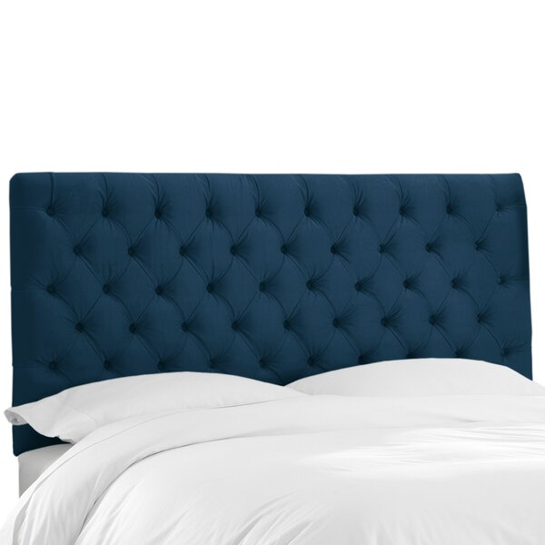 Tufted Upholstered Panel Headboard by Wayfair Custom Upholstery™