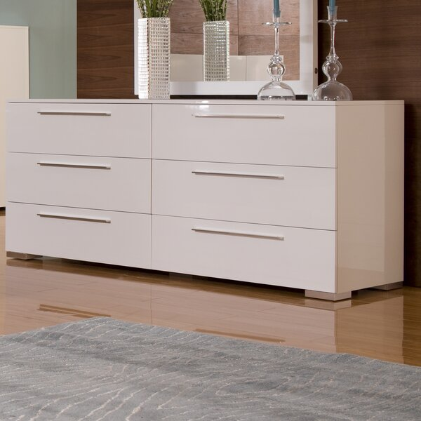 Blasko 6 Drawer Double Dresser by Wade Logan