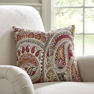 Superb Hampstead Paisley Pillow Cover