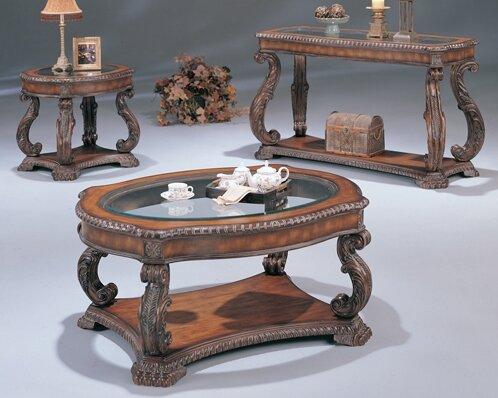 Azusa 3 Piece Coffee Table Set by Wildon Home ®
