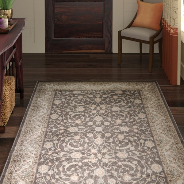 Pompey Brown Area Rug by World Menagerie