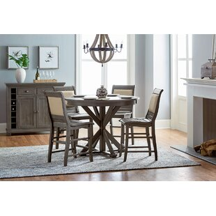 Counter height dining tables birch lane epine round counter height dining table workwithnaturefo
