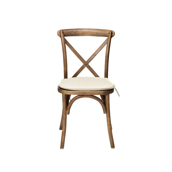 Hibbler Solid Wood Dining Chair by August Grove