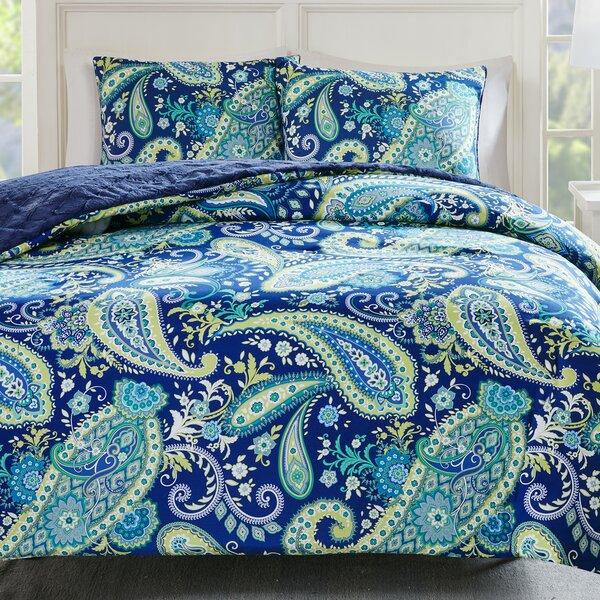 Cairns Reversible Comforter Set by Bloomsbury Market