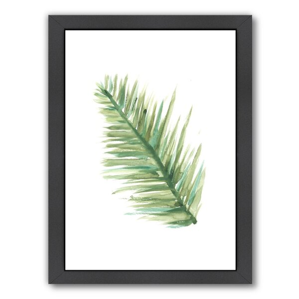Palm 1 Framed Painting Print by Bay Isle Home