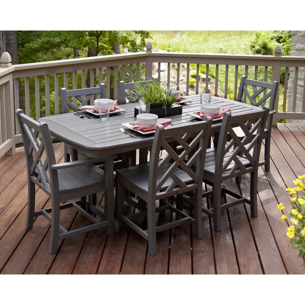 Chippendale 7-Piece Dining Set by POLYWOOD®
