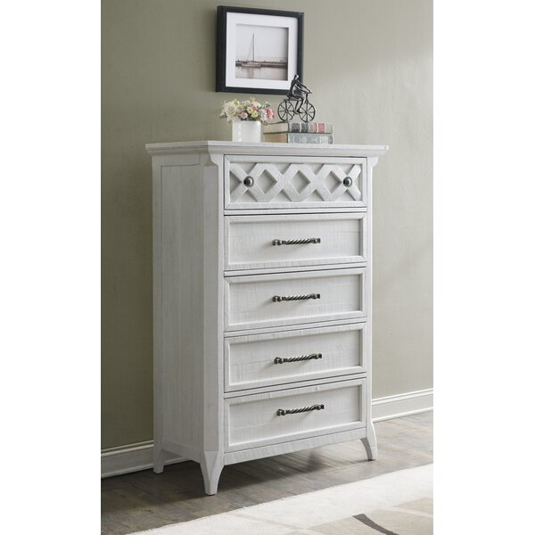 Jesse 5 Drawer Chest by Breakwater Bay