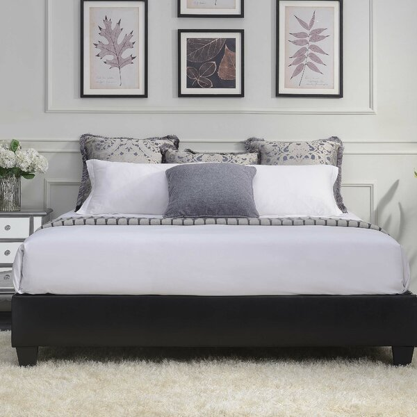 Crowell Upholstered Platform Bed by Ebern Designs