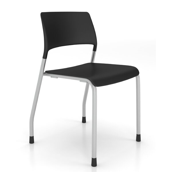 Pierce Armless Stacking Chair by AIS