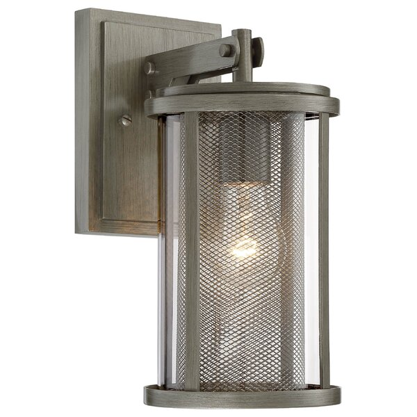 Maddox 1-Light Outdoor Wall Lantern by 17 Stories