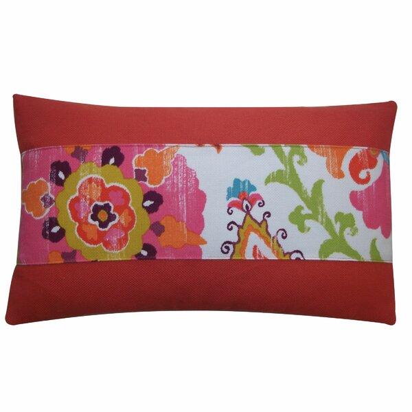 Petals Pieces Outdoor Lumbar Pillow by Jiti