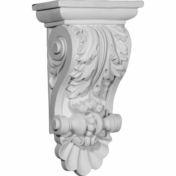 Acanthus 14 7/8H x 8W x 5D Shell Corbel by Ekena Millwork