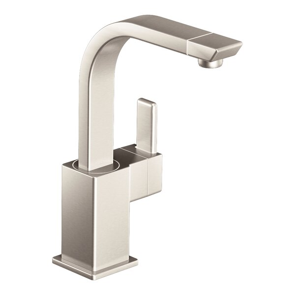 90 Degree Single Handle Kitchen Faucet by Moen