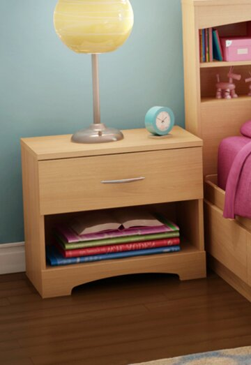 Step One 1 Drawer Nightstand by South Shore