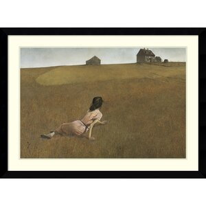 'Christina's World' by Andrew Wyeth Framed Painting Print by Darby Home Co