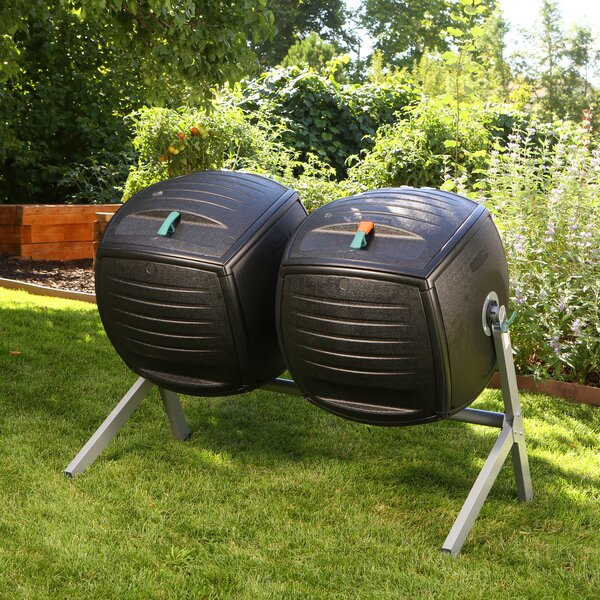 Dual 50 Gal. Tumbler Composter by Lifetime