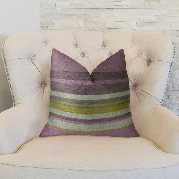 Berry Crush Handmade Throw Pillow by Plutus Brands