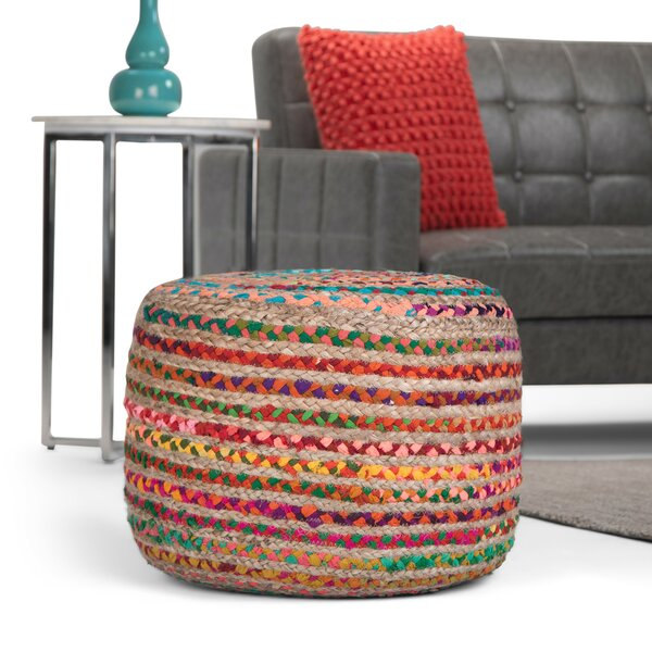 Colbert Round Pouf by World Menagerie